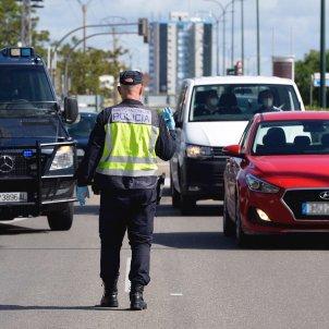 policia cnp coronavirus control carretera efe