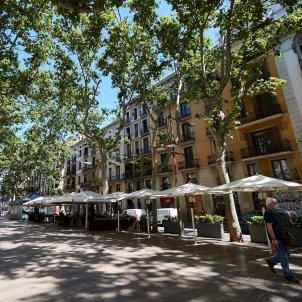 Barcelona terrassa coronavirus EFE