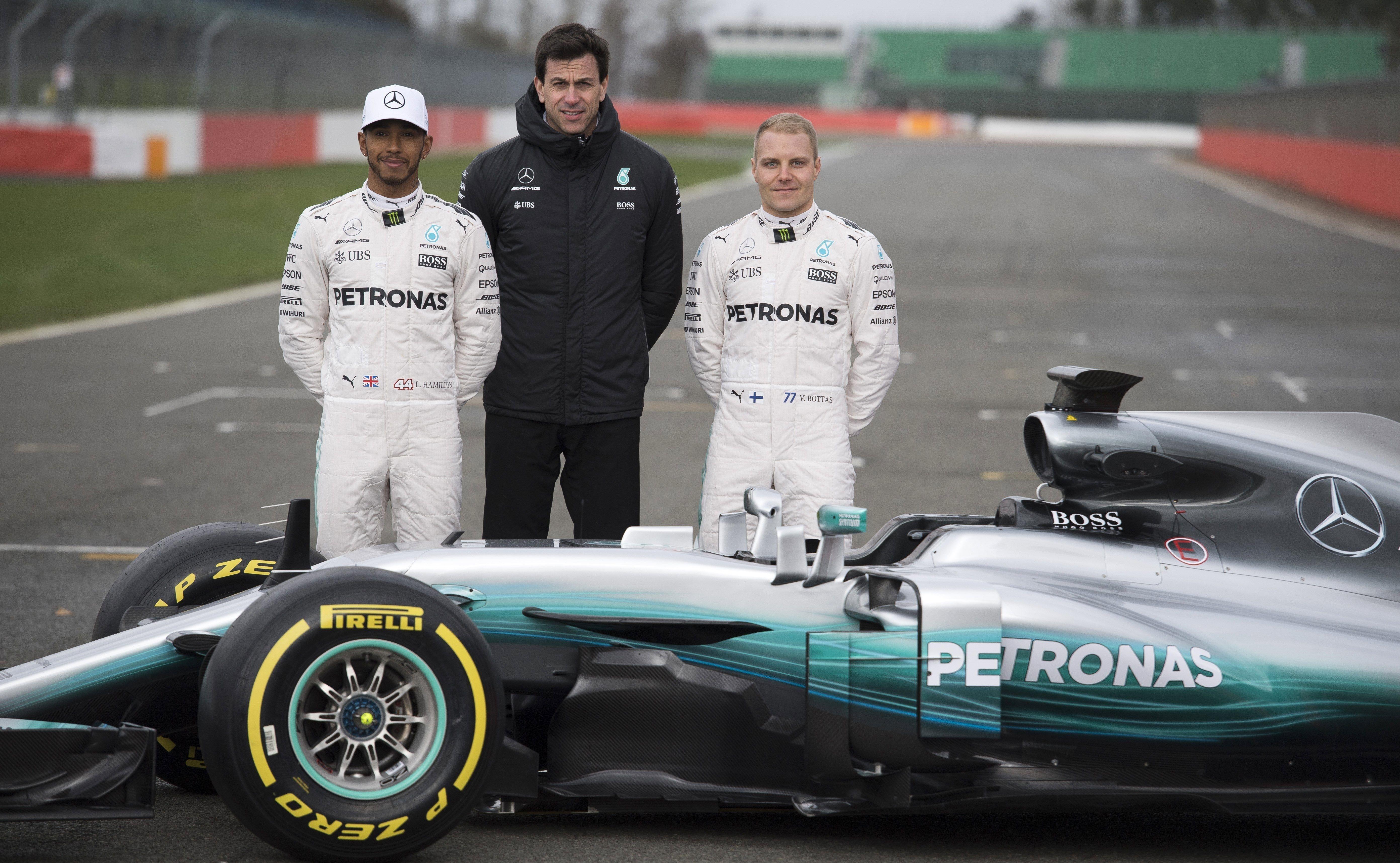Mercedes Hamilton Bottas Fórmula 1