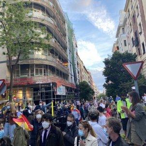 Manifestació barri Salamanca Madrid @paseamosjuntos
