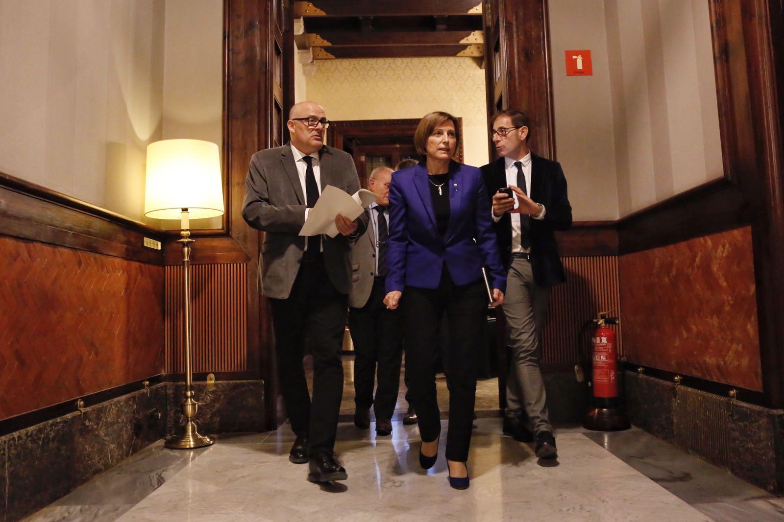 forcadell corominas mesa parlament sergi alcazar