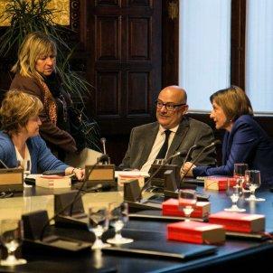 Mesa Parlament querellats / Alcazar