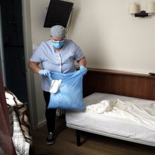 bugaderia neteja hotel europa girona coronavirus acn