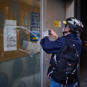 Oficina ocupació atur coronavirus Europa Press