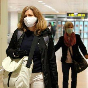 coronavirus aeroport prat mascareta vol internacional - acn