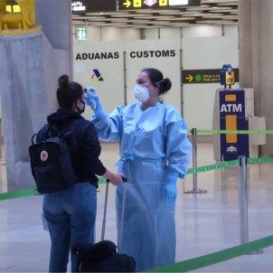 aeroport del Prat control temperatura coronavirus EFE