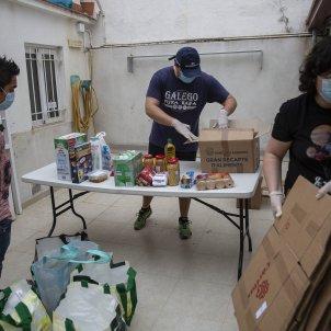 Menjador Social caritas Coronavirus caritas crisi sanitaria - Sergi Alcazar