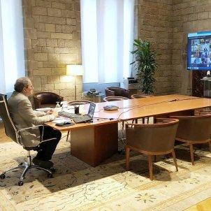 Torra reunió presidents Jordi Berdmar