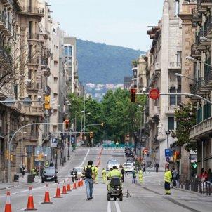 obres via laietana desconfinament coronavirus ajuntament de barcelona