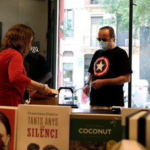 Llibreria Barcelona desconfinament coronavirus - ACN