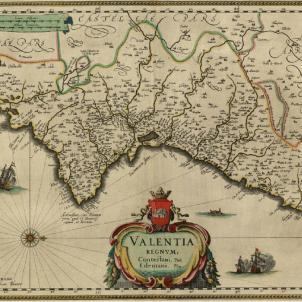 Es publica el primer mapa de la història del País Valencià. Còpia de l'original d'Ortelius cartografiat el 1640. Font Cartoteca de Catalunya