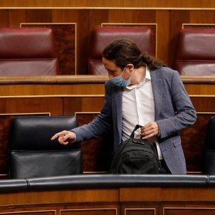 Pablo Iglesias Congrés coronaviris Pool EFE Ballesteros