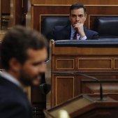 Pedro Sánchez Pablo Casado Congrés coronavirus EFE Pool