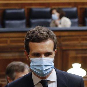 Pablo Casado Congrés mascareta coronavirus Pool EFE