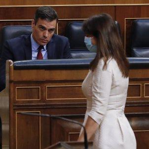 Pedro Sánchez Laura Borràs coronavirus Congrés Pool EFE