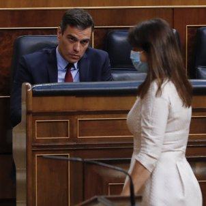 Pedro Sánchez Laura Borràs EFE