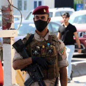soldat iraq irak mascareta efe