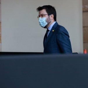 Aragonès coronavirus mascareta Parlament Job Vermeulen