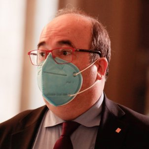 Miquel Iceta Parlament coronavirus Job Vermeulen