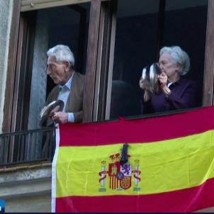 Protesta Madrid avis coronavirus Tagesschau