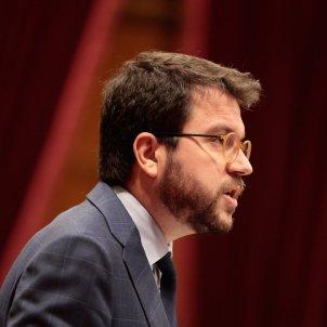 Pere Aragonès Parlament Job Vermeulen