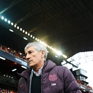 Quique Setien Barca Europa Press