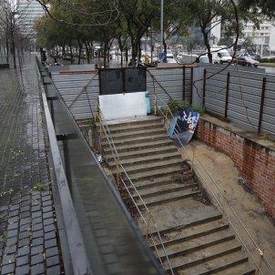 Obres L9 metro ildefons cerda  Sergi Alcàzar  3