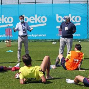 Bartomeu Barca entrenament FC Barcelona