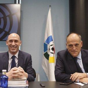 Luis Rubiales Javier Tebas EuropaPress