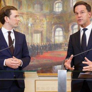 Sebastian Kurz Mark Rutte Austria Holanda - Efe