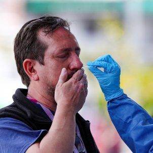 coronavirus peru test efe