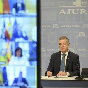 Urkullu reunió presidents coronavirus EP