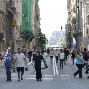via laietana peatonal barcelona efe