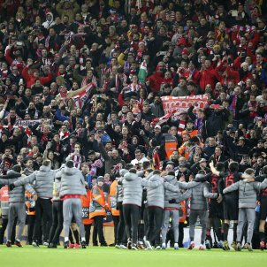 Liverpool Atletic Madrid Anfield EuropaPress