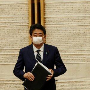 Shinzo Abe Japo mascareta EFE