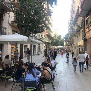 carrer blai barcelona terrasses acaben els límits d'aforaments - marina fernàndez
