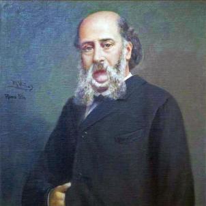 Mor Pere Mata, fundador de la medicina forense a l'estat espanyol. Retrat del doctor Pere Mata. Font Viquipedia