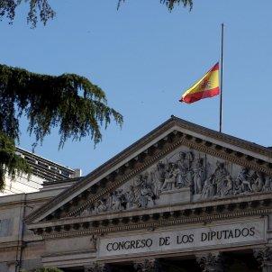 Congreso bandera dol coronavirus EFE