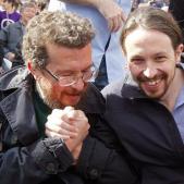 Francisco Javier Iglesias i Pablo Iglesias EFE