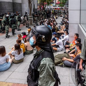manifestacio prodemocracia hong kong - Efe