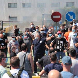 manifestacio nissan tancament sergi alcàzar