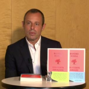 sandro rosell presentacio llibre abraçada