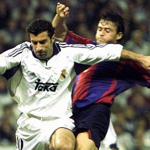 Luis Figo Luis Enrique Real Madrid Barca @RealMadrid