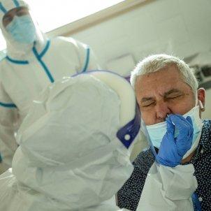 Test PCR coronavirus CAP Barcelona EFE