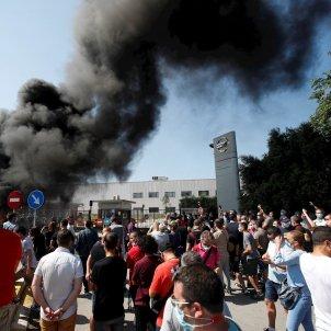 Nissan protesta Barcelona EFE