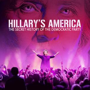 Hillarys America documentary film poster   WIKIMEDIA