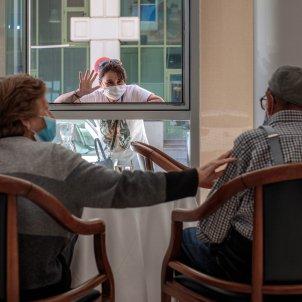 residencia Madrid persones grans per un un rebrot coronavirus - efe