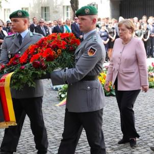 Merkel homenatge operació Valquíria 2019 EFE
