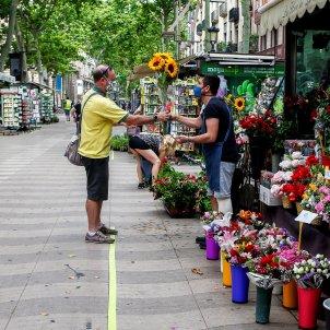 quiosc flors barcelona rambles coronavirus - efe