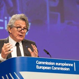 Eurocomissari de Mercat Intern i Indústria, Thierry Breton - ACN
